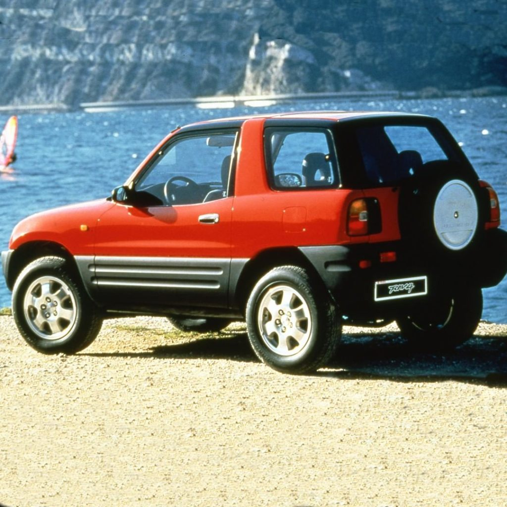 Making you the envy of the beach since '96! #TBT #Rav4 #LetsGoPlaces...