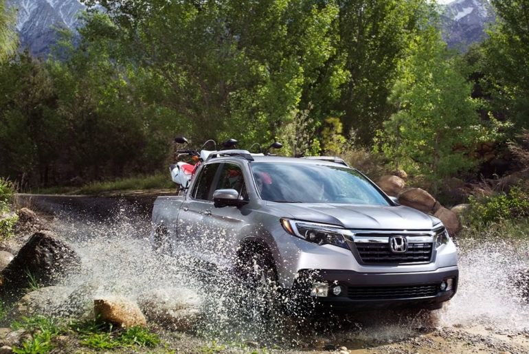 Whether the job calls for loading lumber or venturing off-road, the #HondaRidgel...