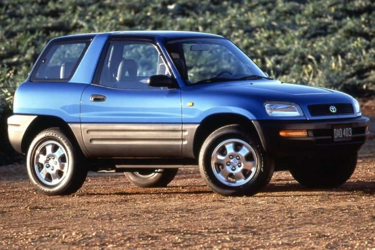 Fun to look at, even more fun to drive! #TBT 1996 #Rav4 #LetsGoPlaces...
