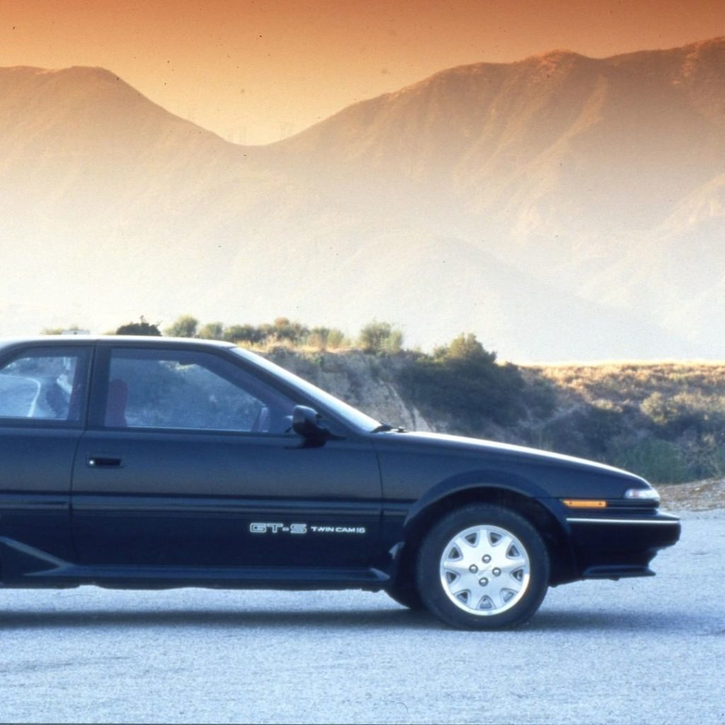 When reliability meets power, you get the 1989 #CorollaGTS. #TBT #LetsGoPlaces...