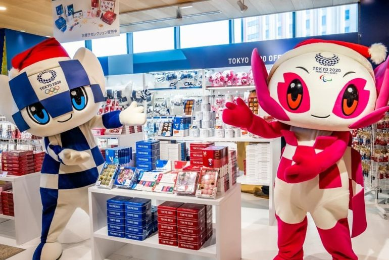 @miraitowa and @someity want to show you the new #Tokyo2020 confectionery!  . Yo...