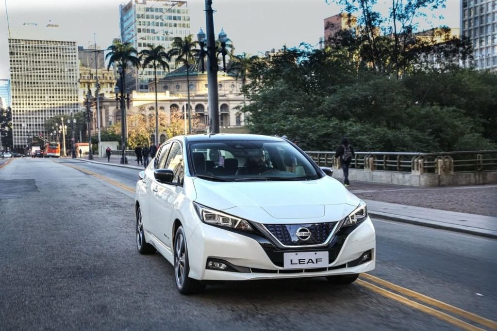 Large and in charge.  #NissanLEAF #SimplyAmazing...