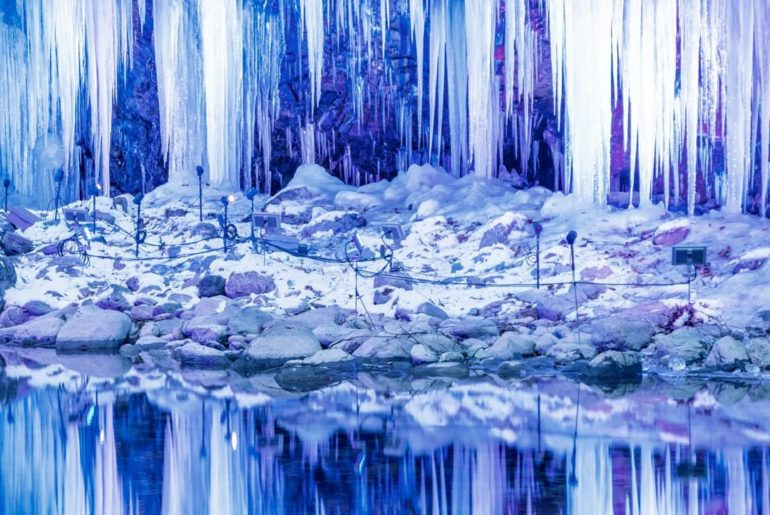 . #DramaticDecember The Misotsuchi Icicles in Oku-Chichibu are truly a winter wo...