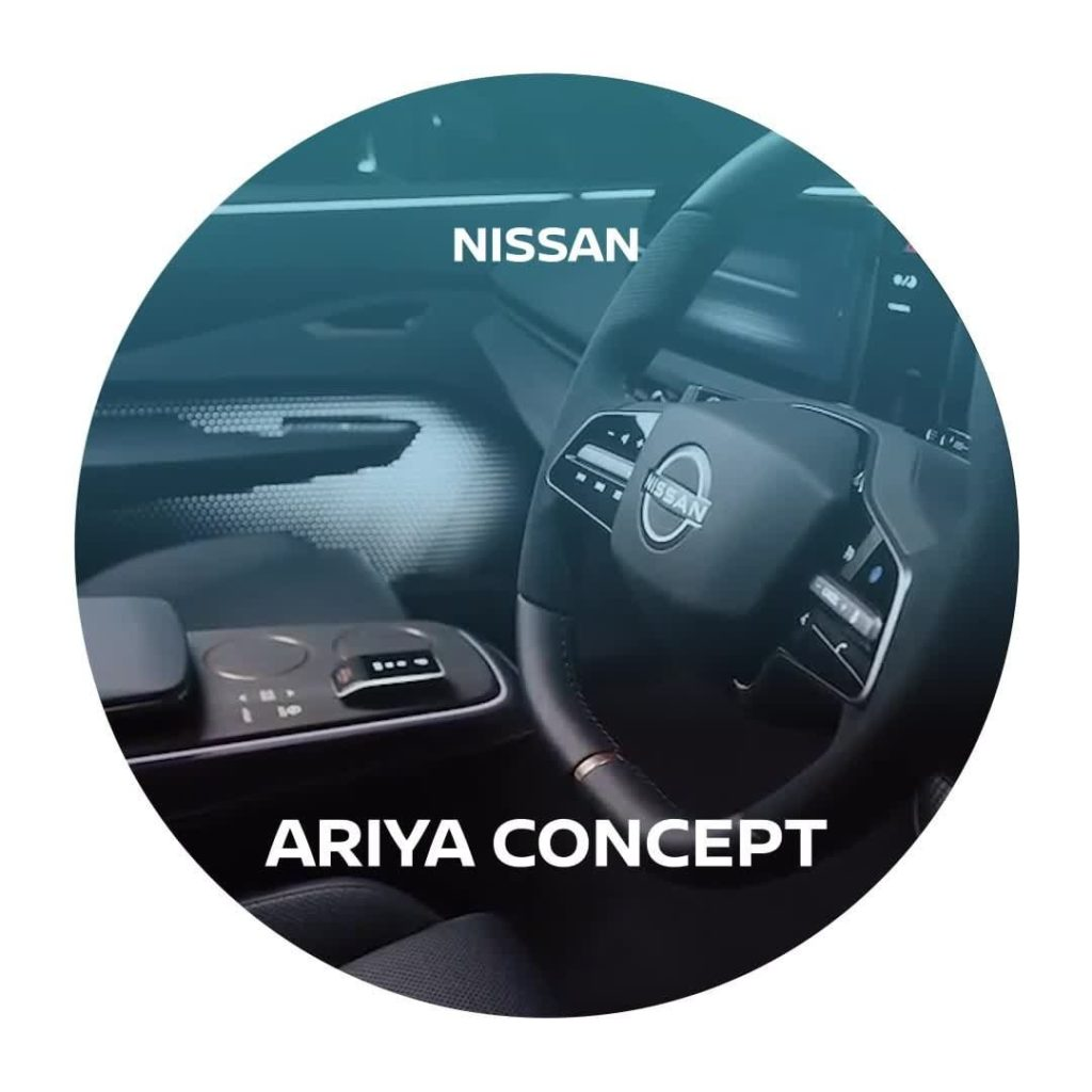 The interior of the #Ariya Concept reflects the notion of seamlessness, represen...
