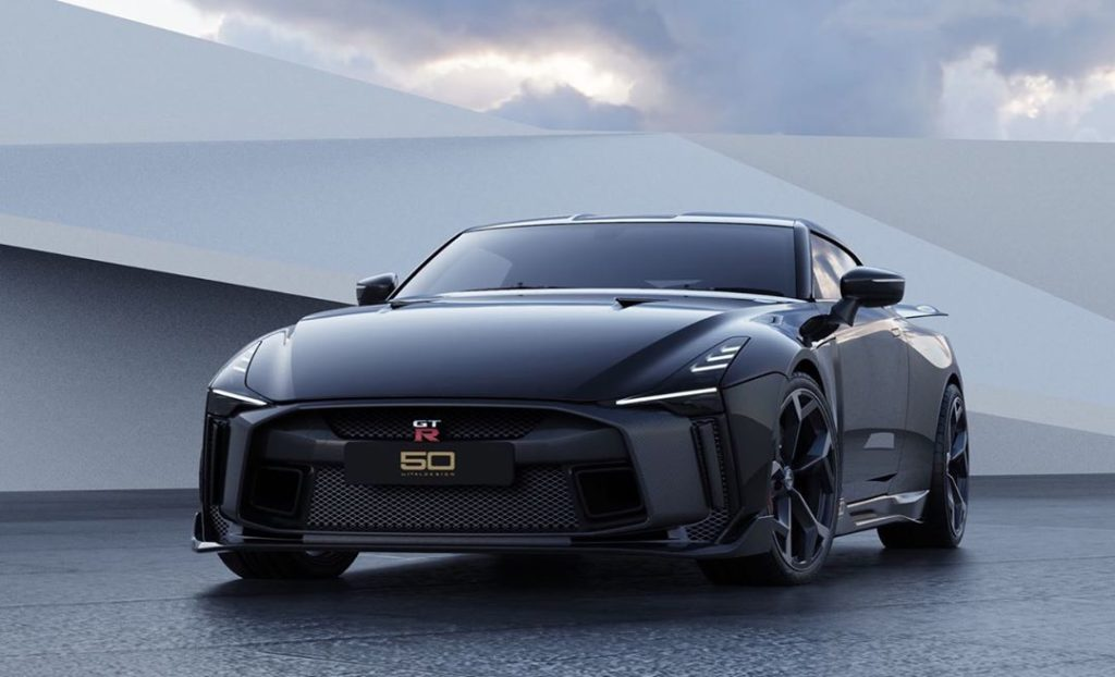The first production models of the ultra-exclusive #Nissan GT-R50 by Italdesign ...
