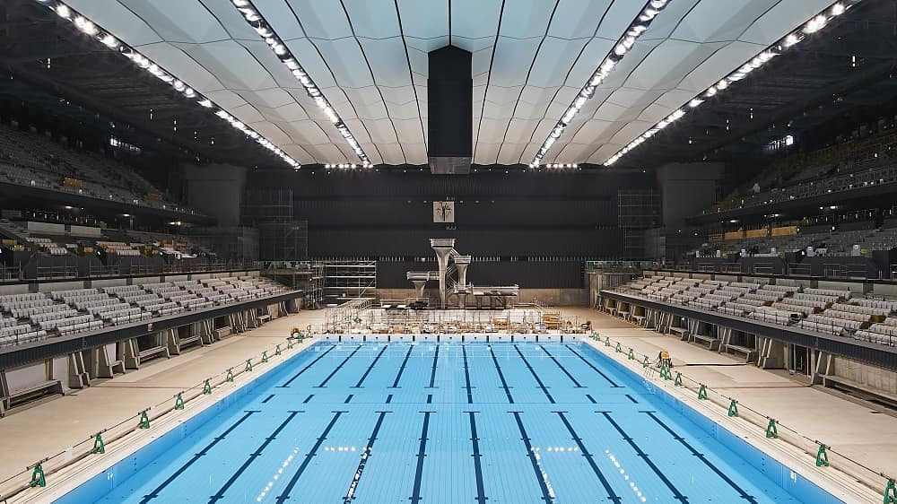 See the Tokyo Aquatics Centre like you've never seen it before!  . See how that ...