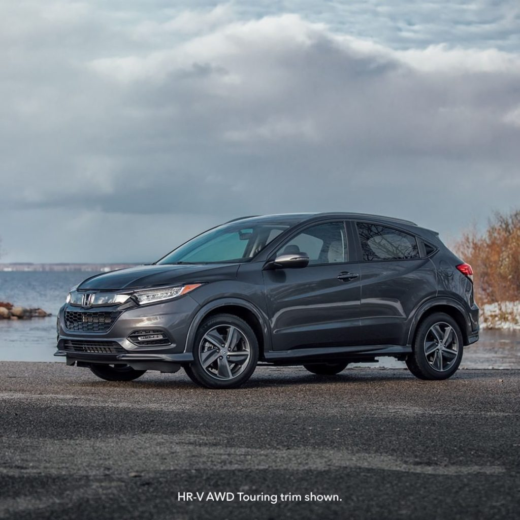 Plan your next adventure in the sleek and sporty #HondaHRV....
