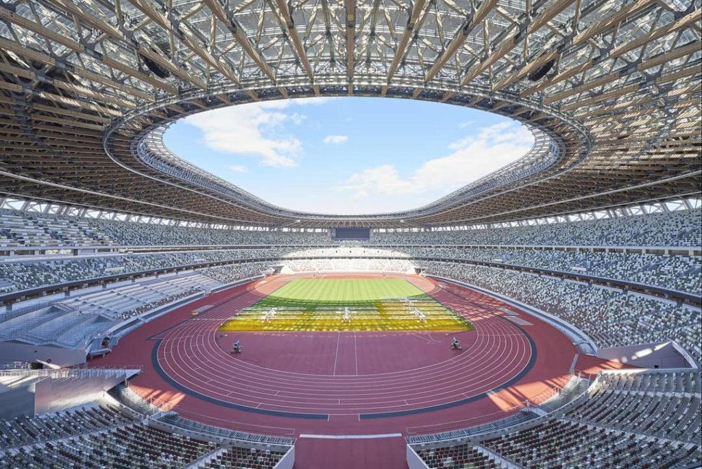 The Olympic stadium is  What an incredible venue This is a place where records ...