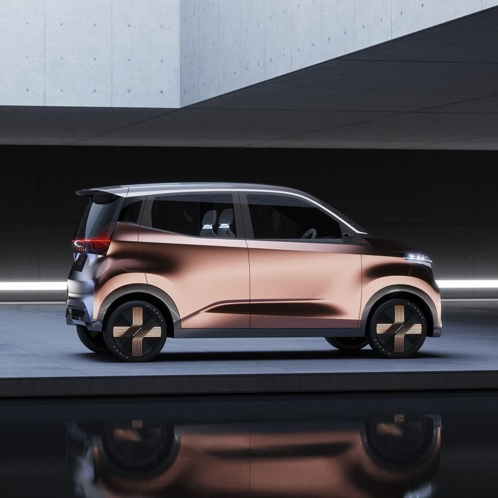 Compact, but mighty.  The #Nissan #IMk concept with smartphone-enabled, driverle...
