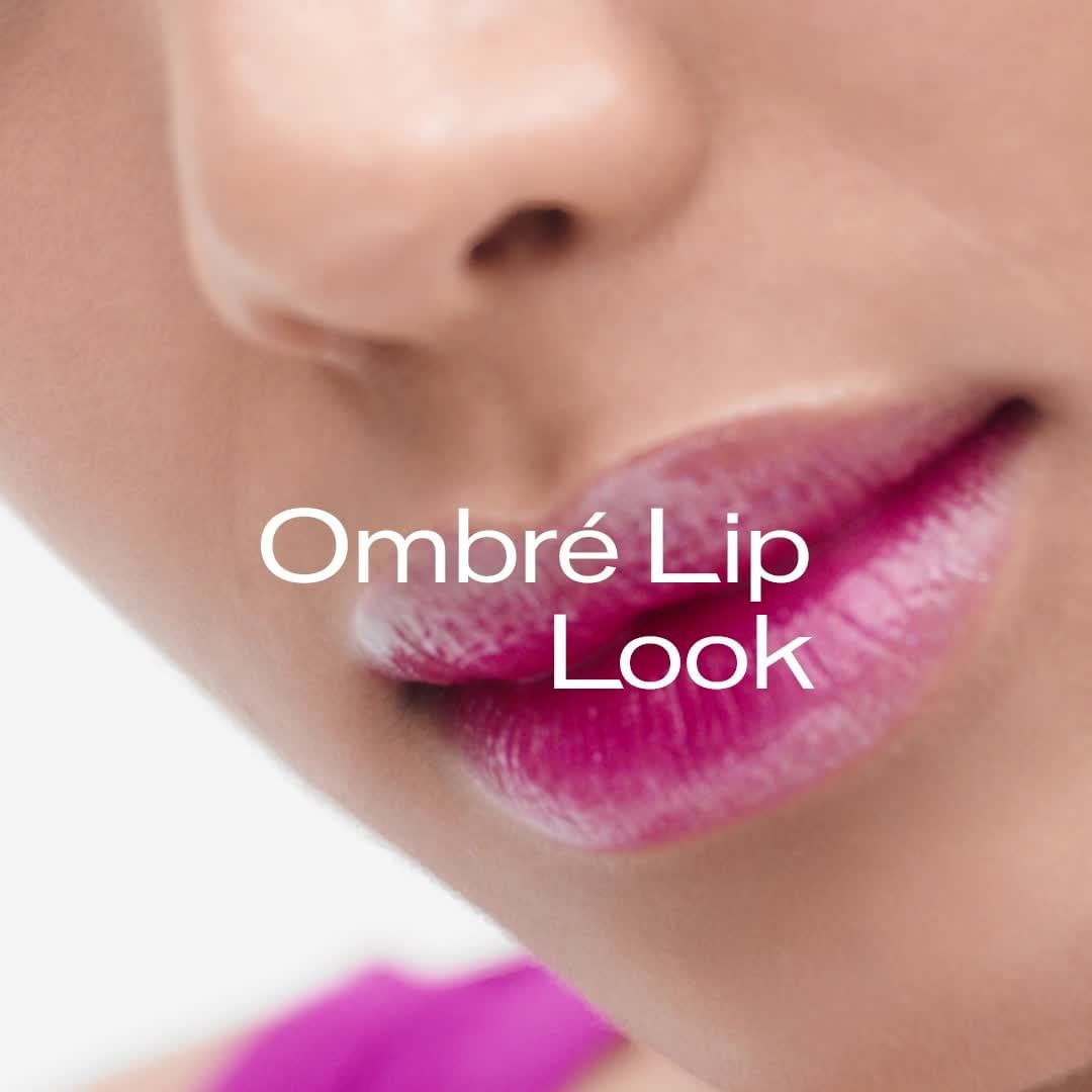 SHISEIDO: Take the ombré lip to new levels. Start with
